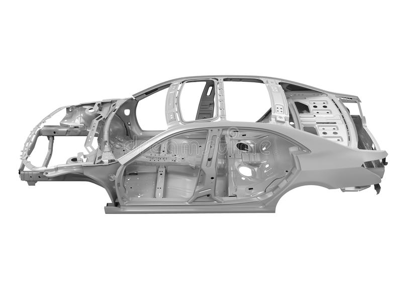 Unibody Car Chassis royalty free stock image