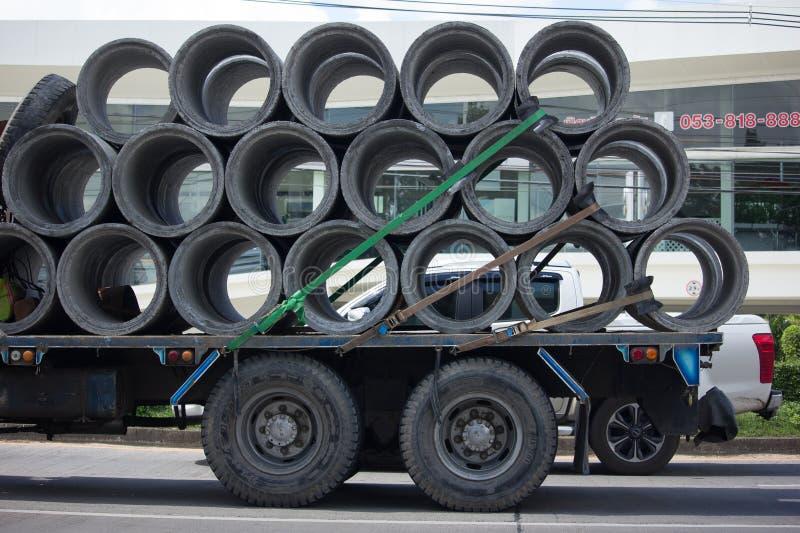 Unic V340 żuraw na Intymnej ciężarówce obraz royalty free