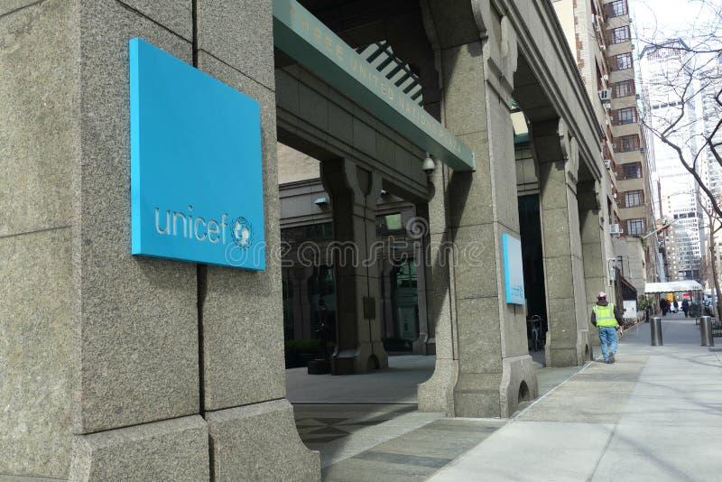 UNICEF kwatery główne fotografia stock