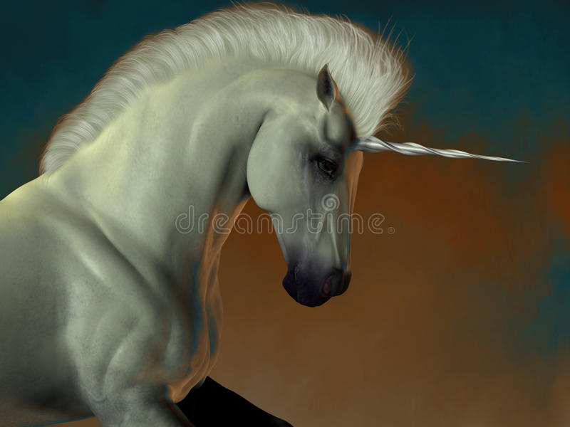 Unicorn 03 arkivfoton