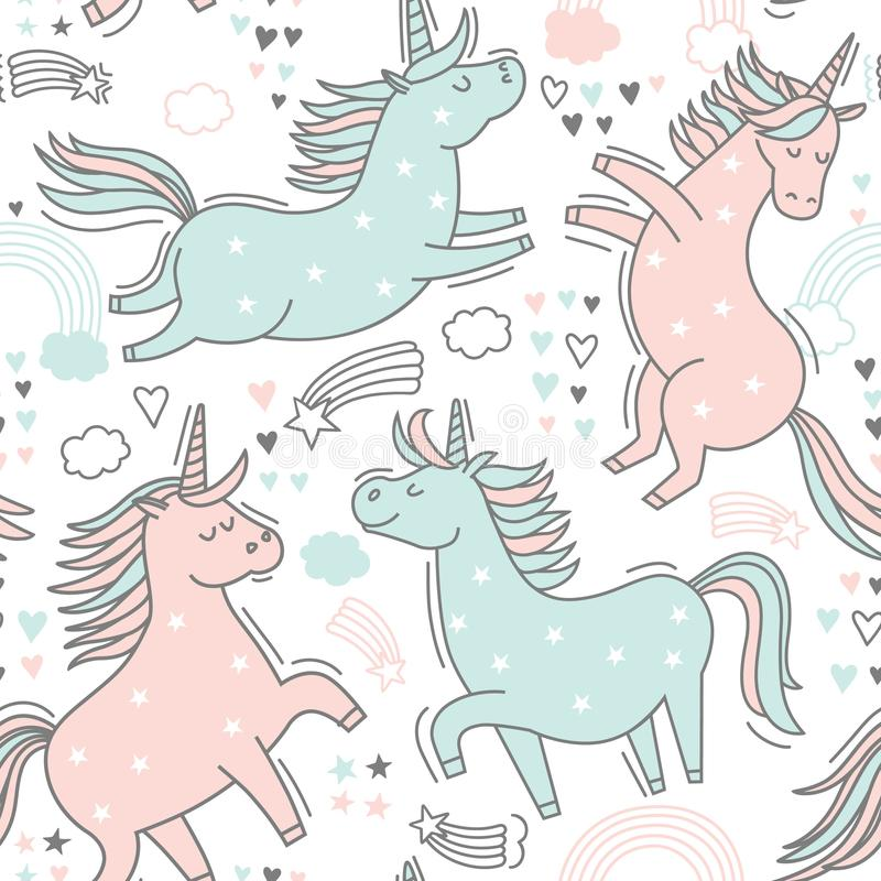 Unicorn4 obrazy stock