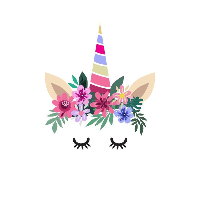 Unicorn8 ilustracja wektor