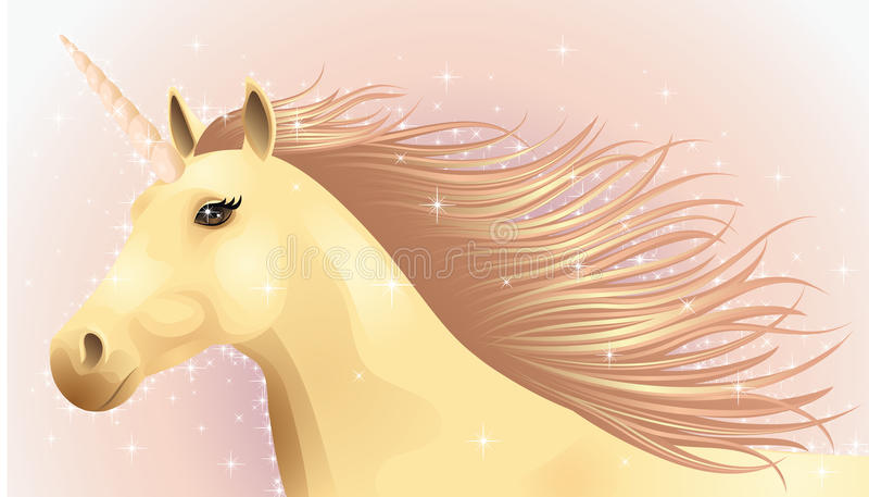 Unicorn. vektor illustrationer