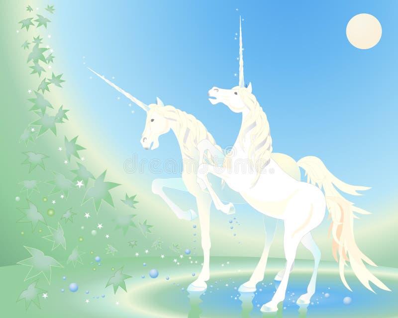Unicorn Royaltyfria Bilder