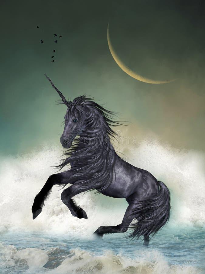 unicorn royalty-vrije illustratie