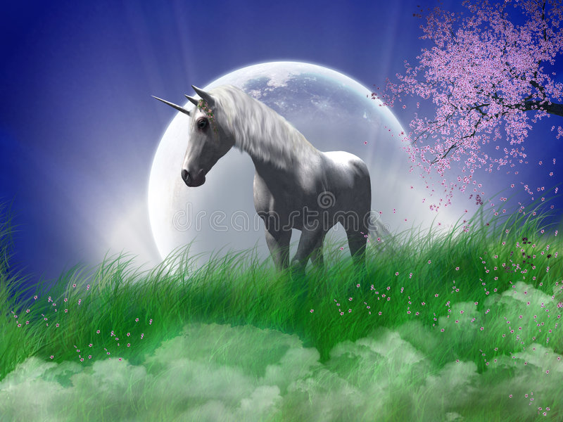 The Unicorn Royalty Free Stock Photography