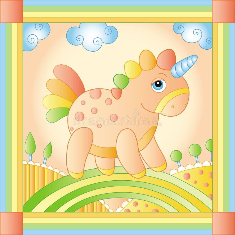 unicorn stock foto's
