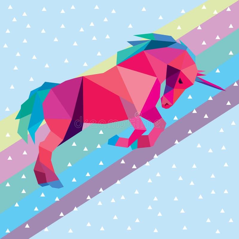 unicorn ilustración del vector
