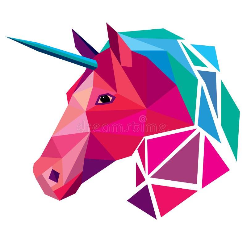 unicorn ilustração stock