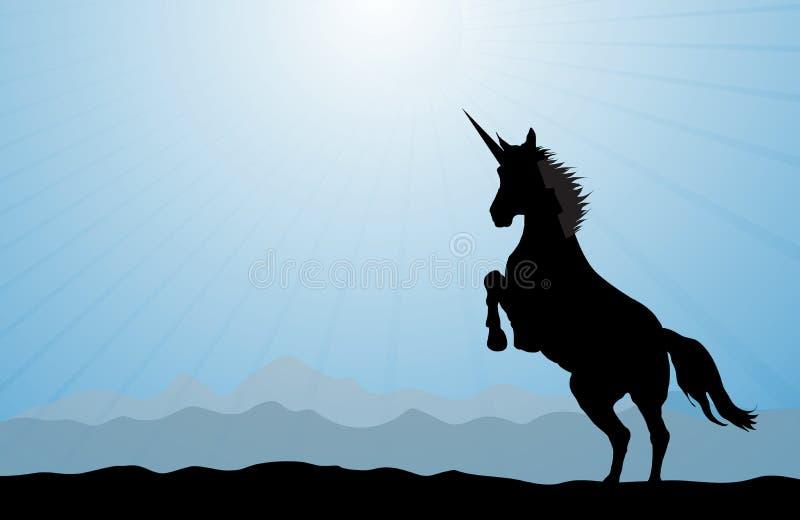 unicorn stock illustrationer