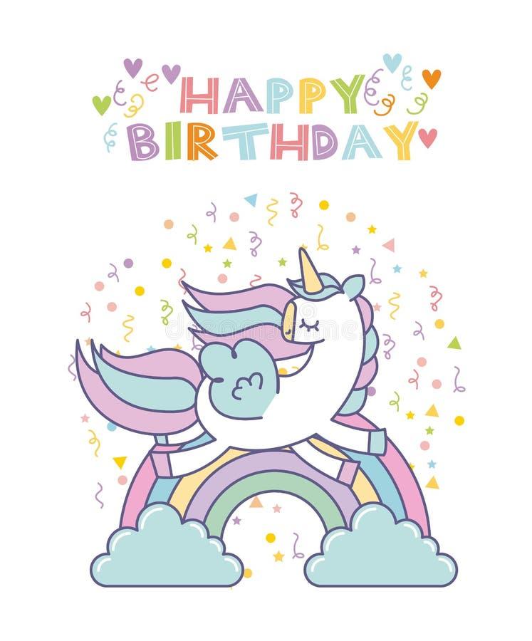 Unicorn birthday card stock vector illustration of nature 80694241 download unicorn birthday card stock vector illustration of nature 80694241 bookmarktalkfo Image collections