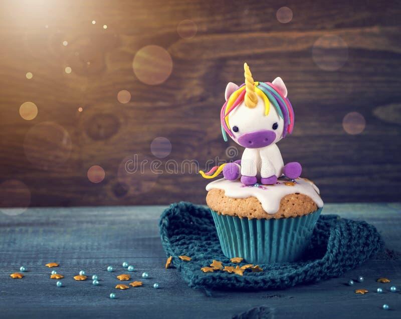 Unicorn cake stock images