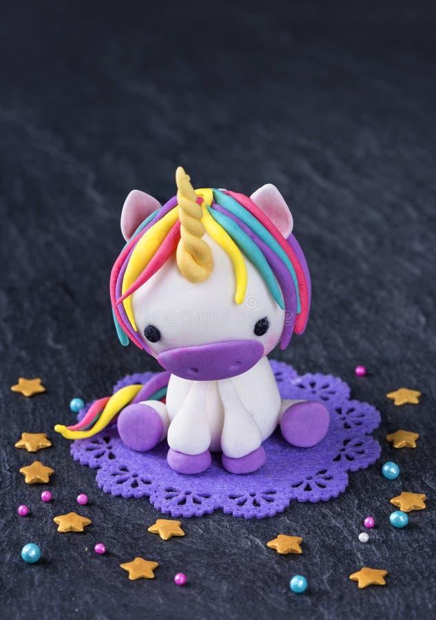Free Unicorn Cake Topper Royalty Free Stock Image - 92961426