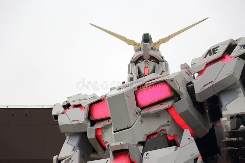 Unicorn Gundam imagenes de archivo
