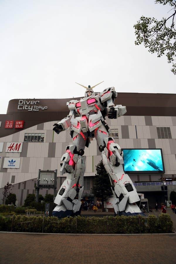 Unicorn Gundam fotografía de archivo