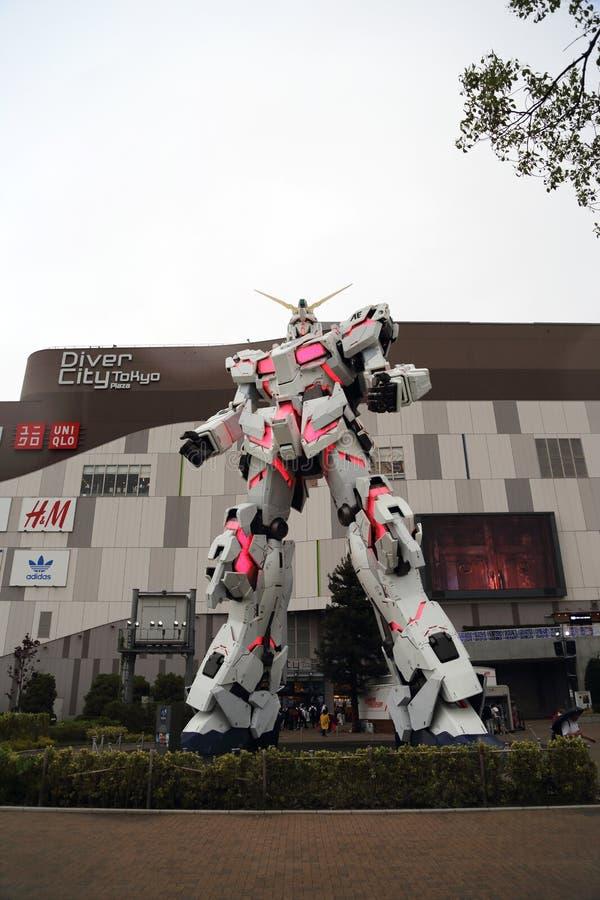 Unicorn Gundam images libres de droits