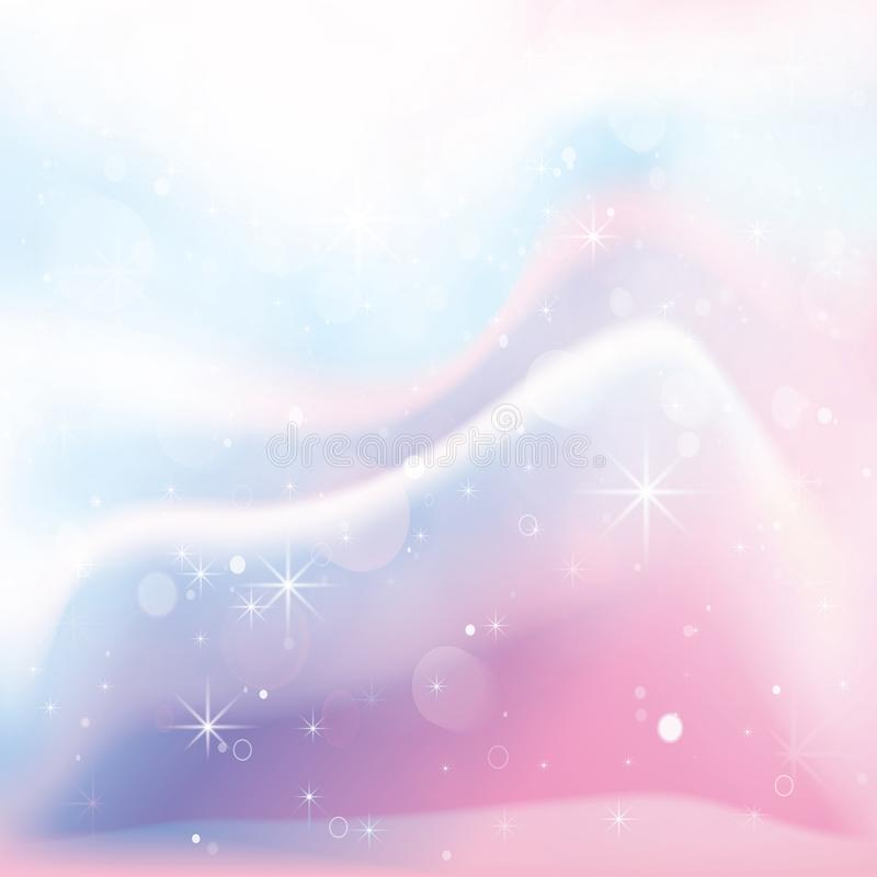 Unicorn Holographic Color Gradient Background. Vector Illustration vector illustration