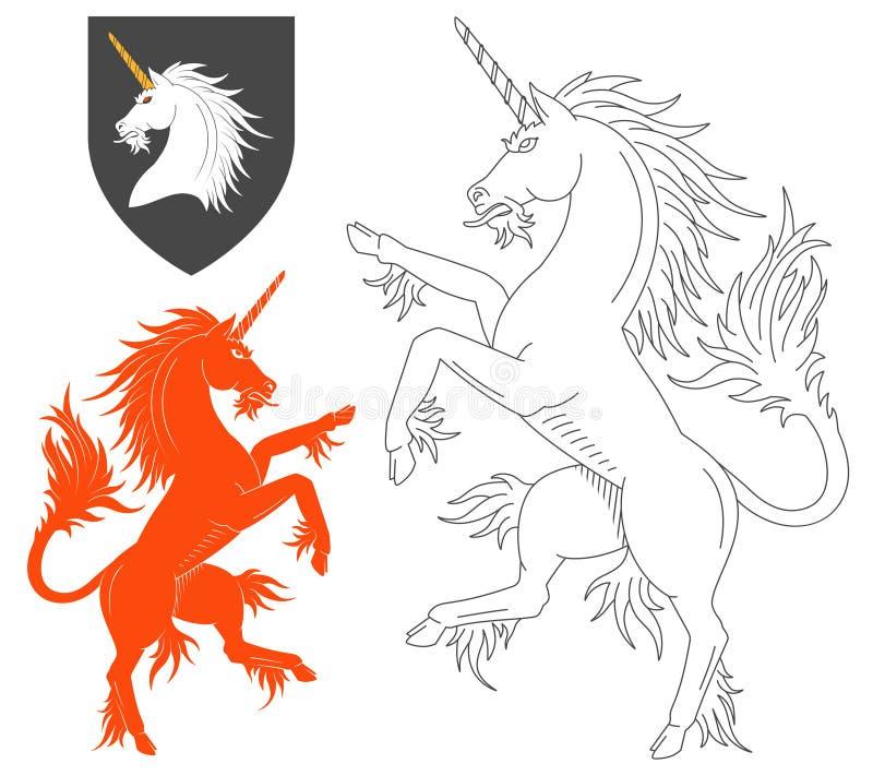 Unicorn Illustration desenfrenado libre illustration