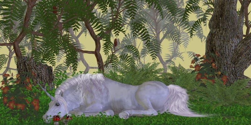 Unicorn Knoll stock illustrationer