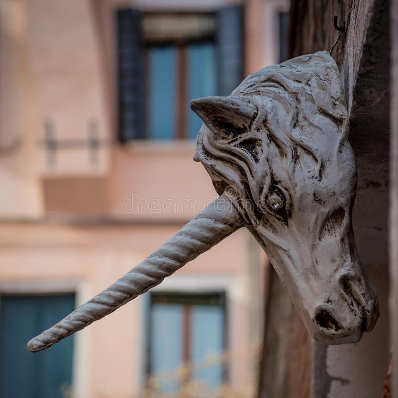 Unicorn Sculpture photographie stock libre de droits