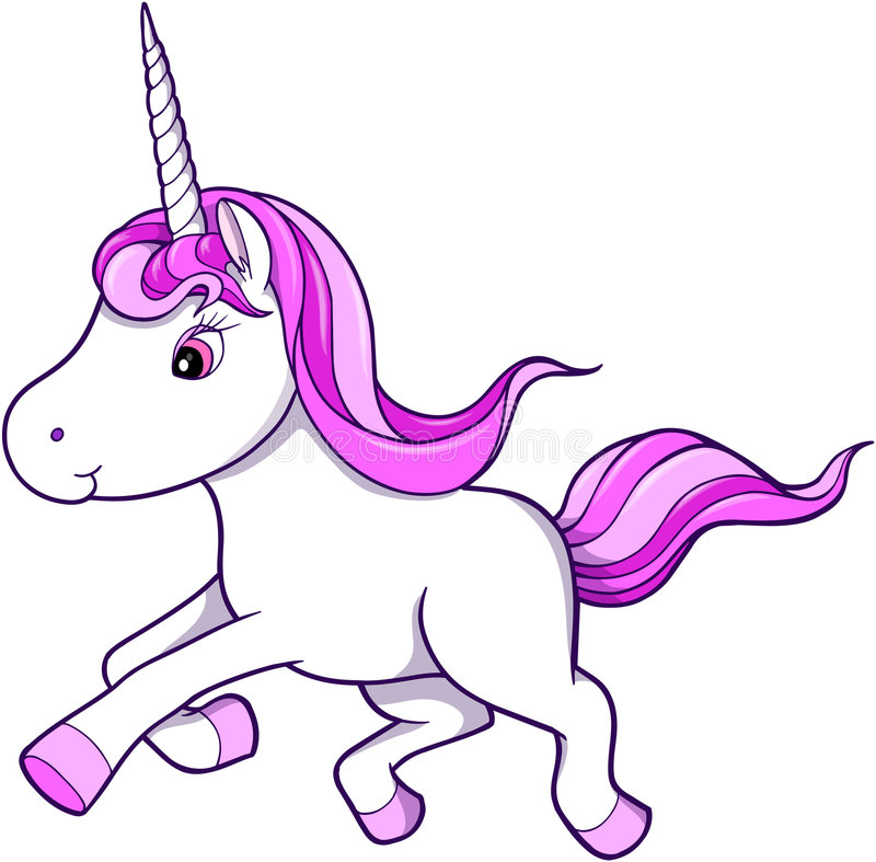 Unicorn Vector stock illustration