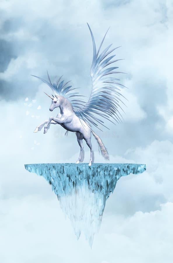 Unicornio stock de ilustración