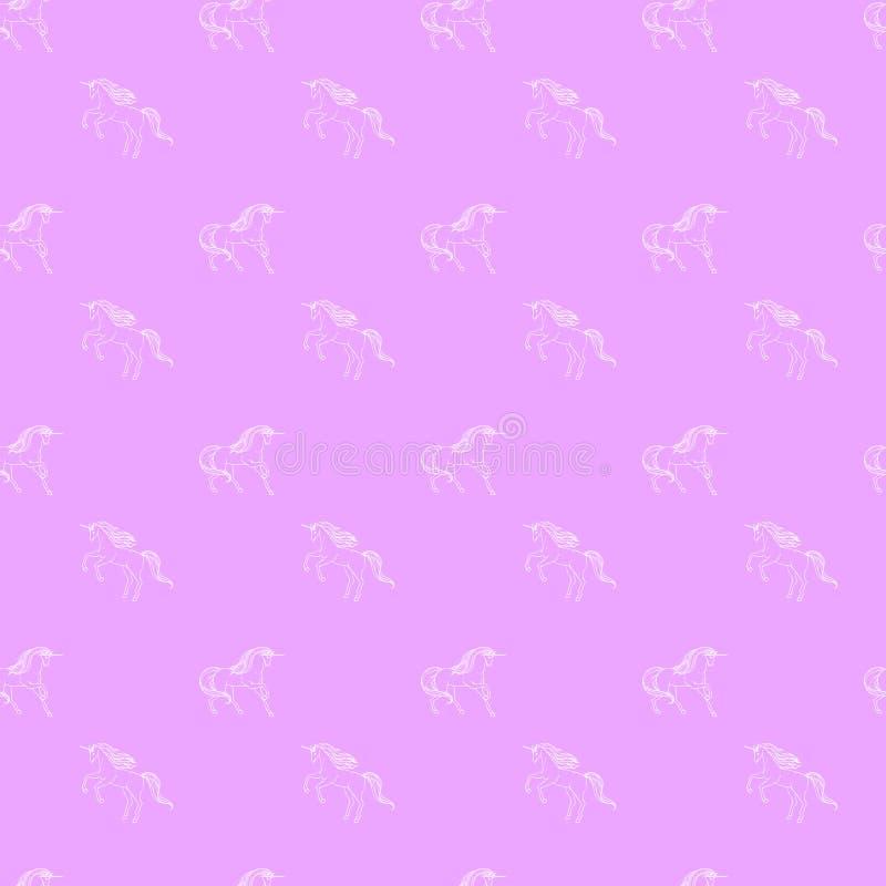 Unicornio inconsútil libre illustration