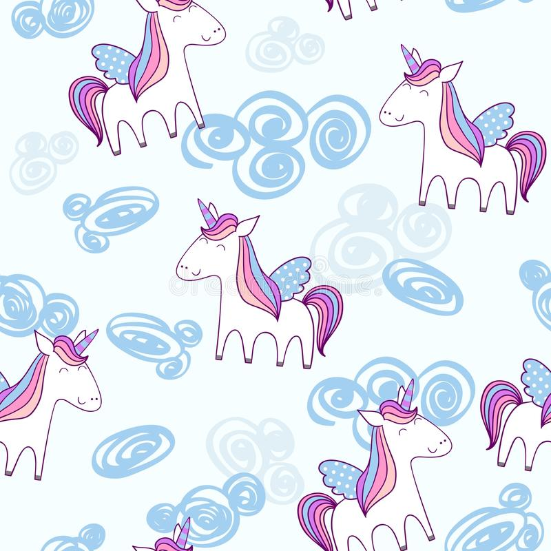 Unicornio lindo mágico libre illustration