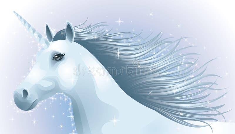 Unicorno. illustrazione di stock