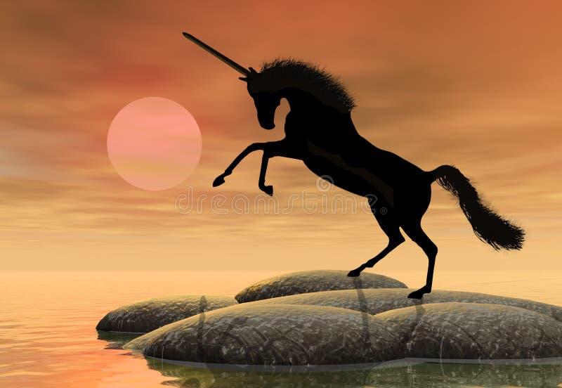 Unicorno illustrazione vettoriale