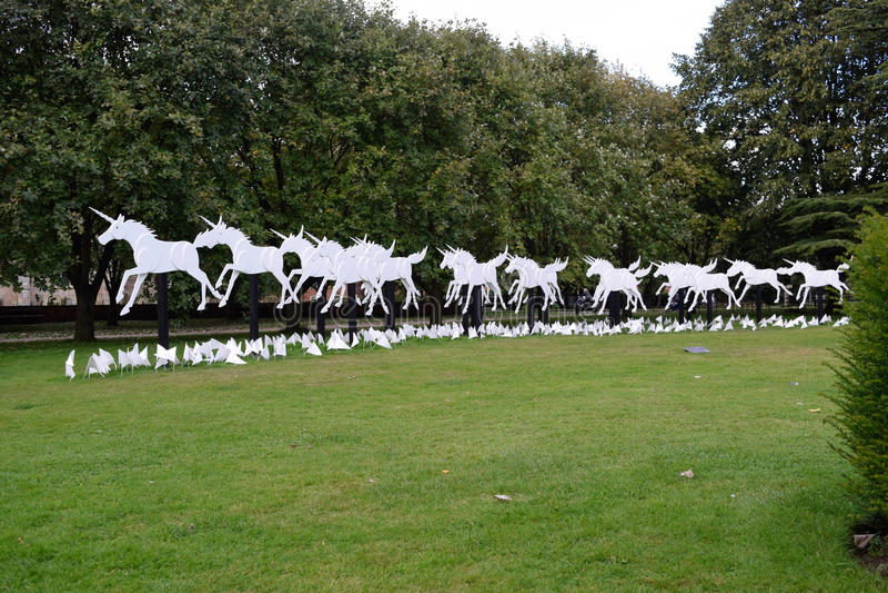 unicorns photographie stock libre de droits