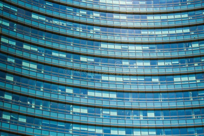 Unicredit银行摩天大楼,最高的摩天大楼在米兰 Gael Aulenti广场 米兰波尔塔加里波第区 图库摄影