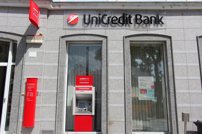 Unicredit Bank stock photos