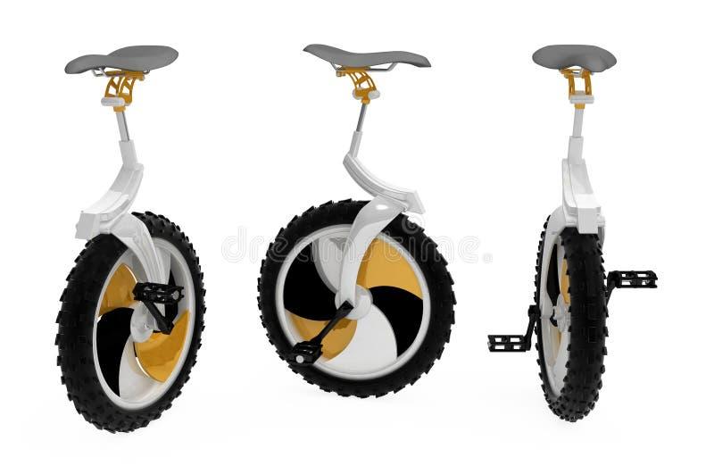 Download Unicycle stock illustration. Illustration of orange, balance - 12999637