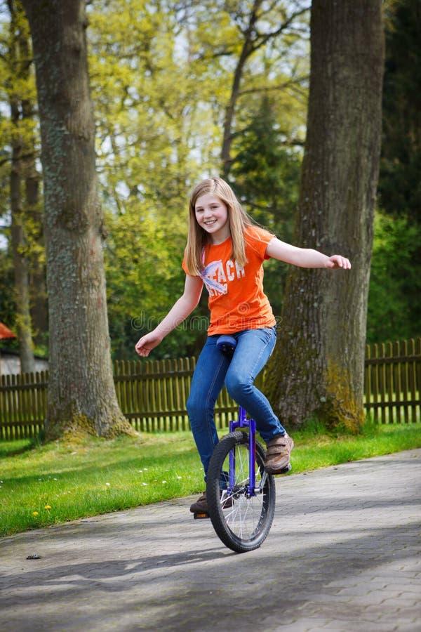 unicycle стоковое фото