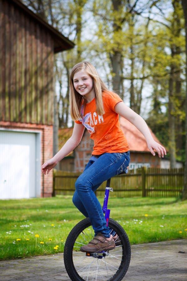 unicycle стоковое изображение rf