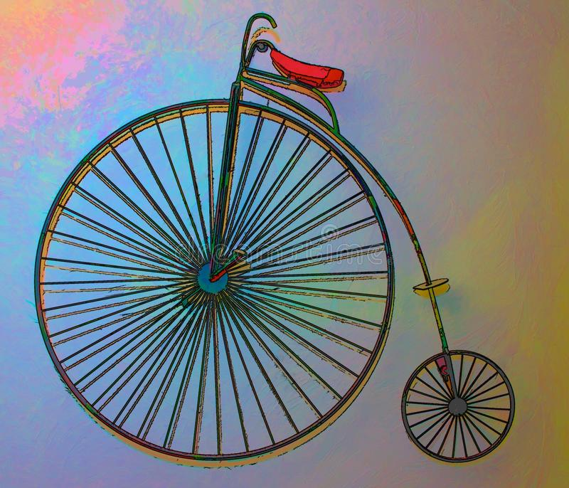 Download Unicycle Abstract stock illustration. Image of bike, seat - 22292789