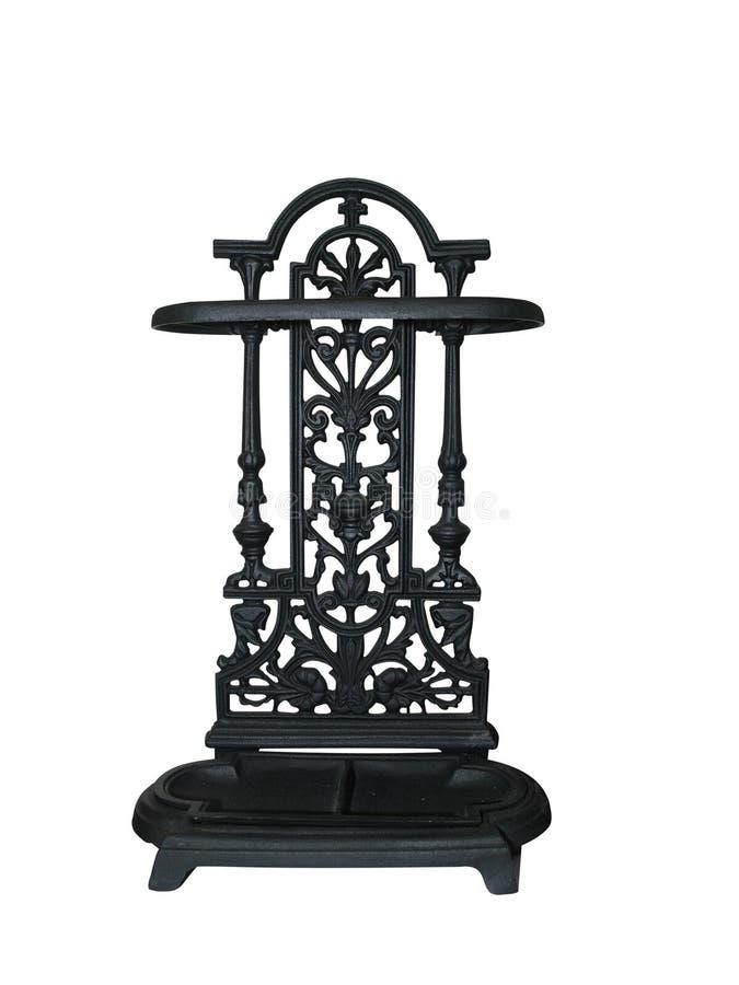 Unidad adornada del estante del metal imagen de archivo libre de regalías