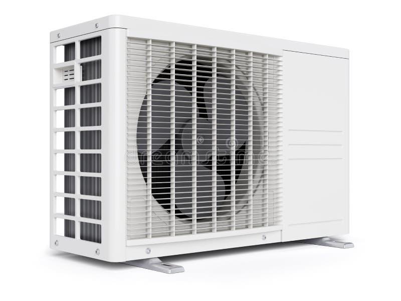 unidad al aire libre del acondicionador de aire libre illustration