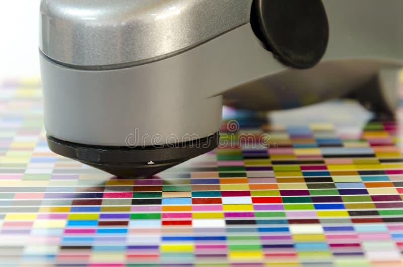 Unidad de control dominante del espectrómetro de la fuente fotos de archivo libres de regalías