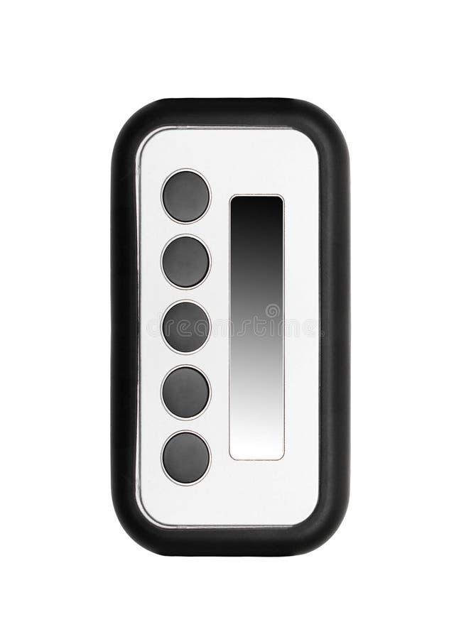 Unidad de control remoto aislada foto de archivo libre de regalías