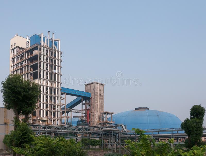 Unidad de la gasificación del carbón imagen de archivo