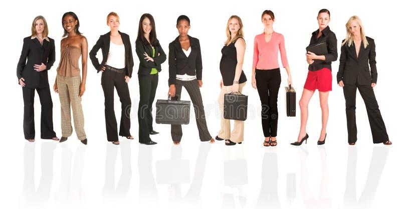 Unidad de negocio de mujer fotografía de archivo