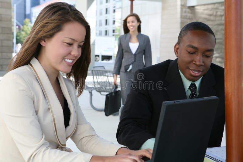 Unidad de negocio diversa foto de archivo