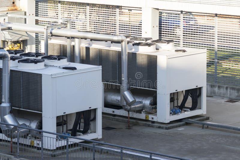 Unidad de refrigeración para el agua enfriada realización fotos de archivo libres de regalías