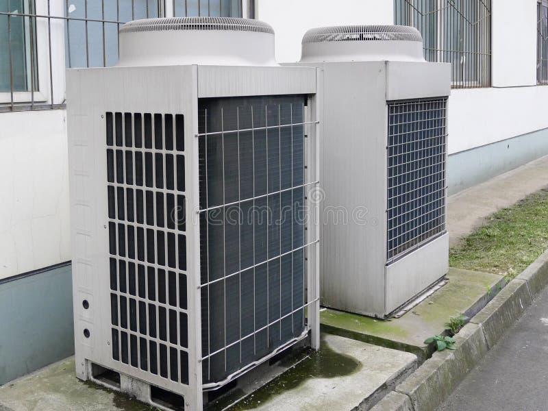 Unidad del acondicionador de aire imágenes de archivo libres de regalías