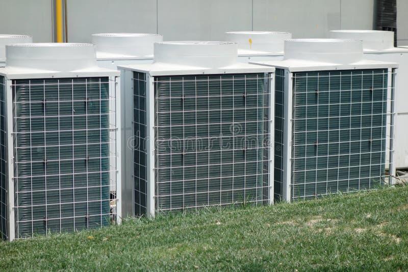 Unidad del acondicionador de aire foto de archivo