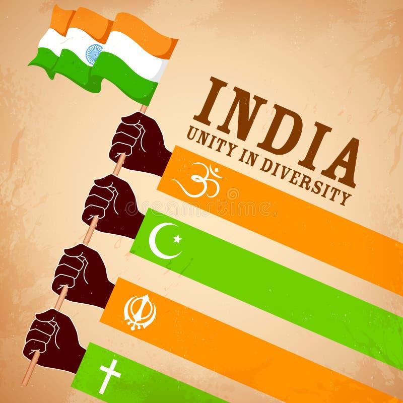 Unidad en diversidad libre illustration
