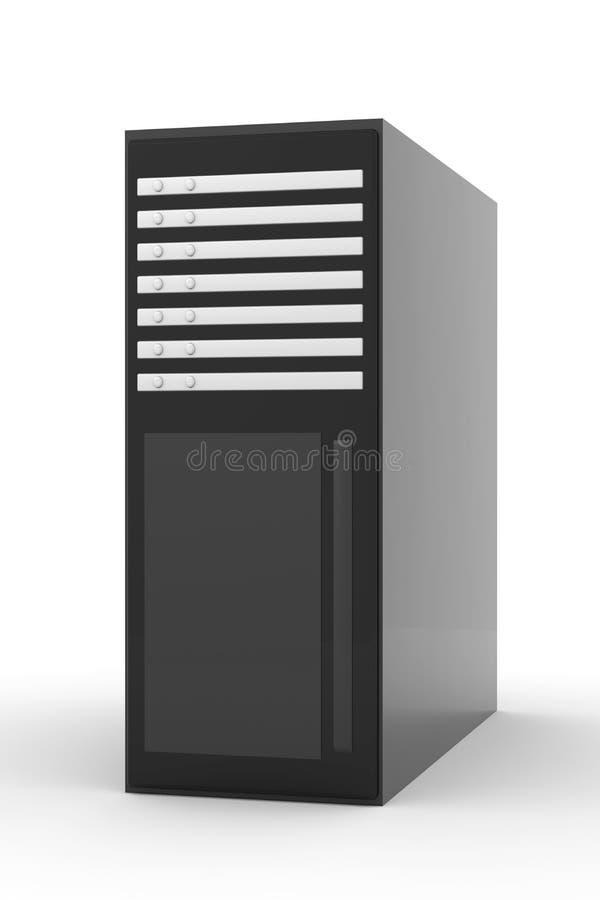 Unidade central ilustração stock