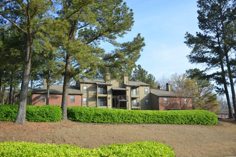 Unidade de alojamento dos apartamentos da cimeira, Memphis, TN imagens de stock